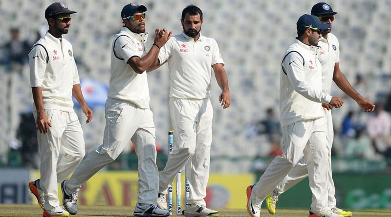 India vs England 3rd test day 1 result