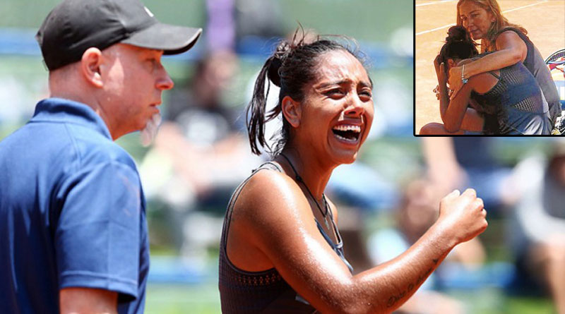 Daniela Seguel, Chilean tennis player, lost her father during match