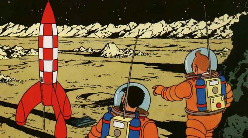 Tintin drawing sells for record €1.55m in Paris auction
