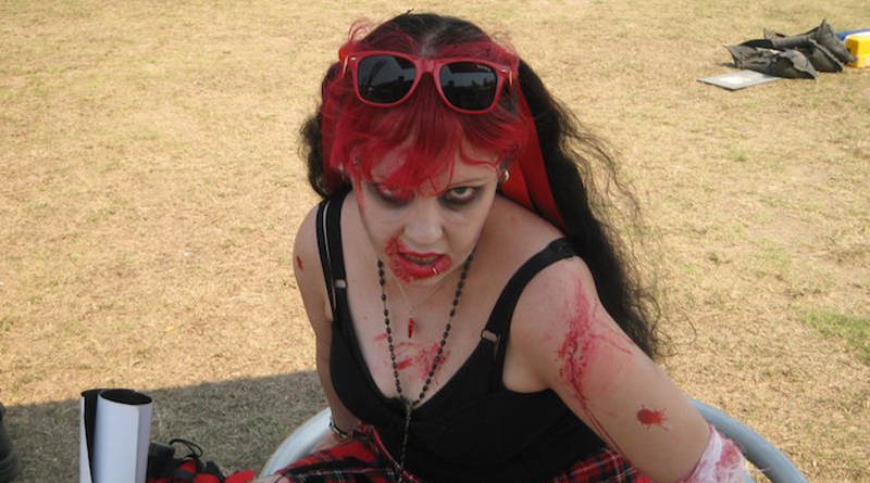 Real-life 'vampire' is addicted to her own blood