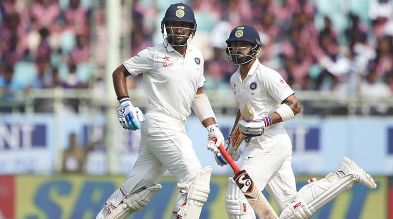India vs England 2nd test 1 day result