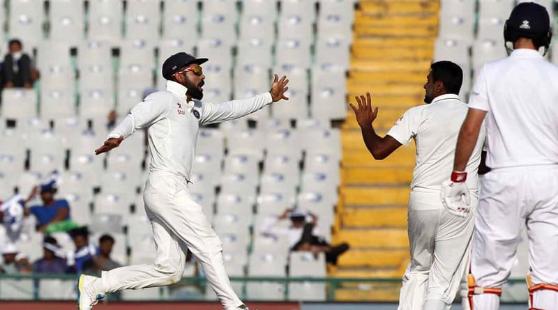 India beat England in 3rd Test at Mohali by 8 wickets