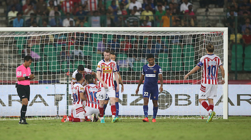 A point each for Chennaiyin FC & Atletico de Kolkata
