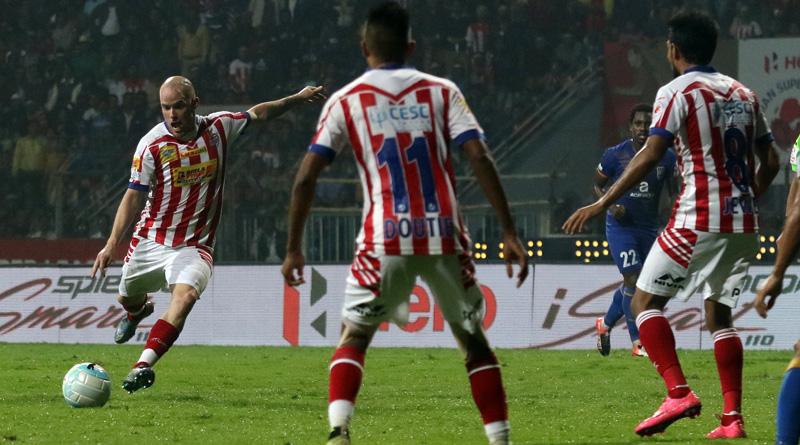 ATK beat Mumbai City FC in 1st leg in semifinal