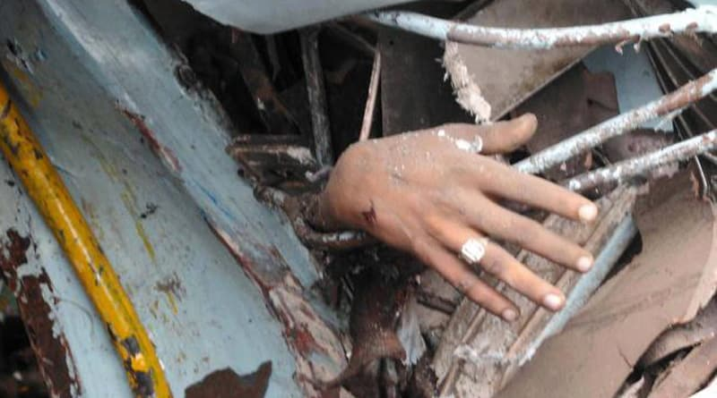 Accident in national Highway, 50 injured