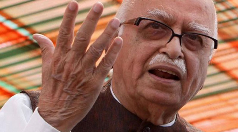 Advani thinks about resignation over perliamne chaos