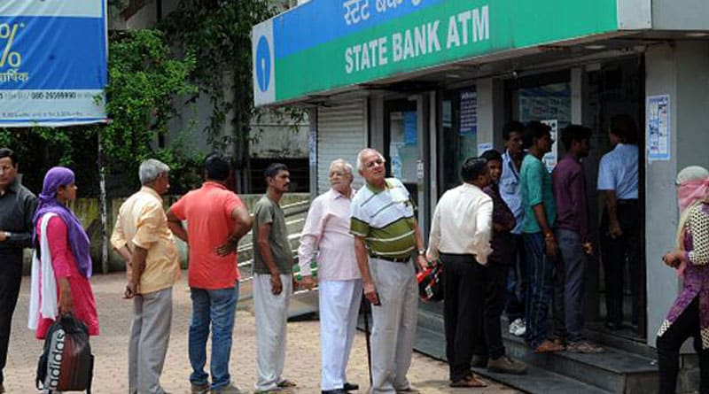 No upper limit for money withdrawal from bank and atm