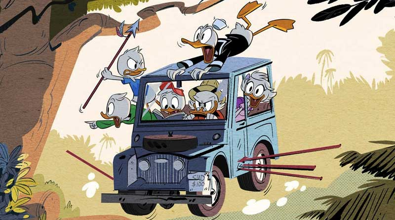 Duck Tales Reboot is out