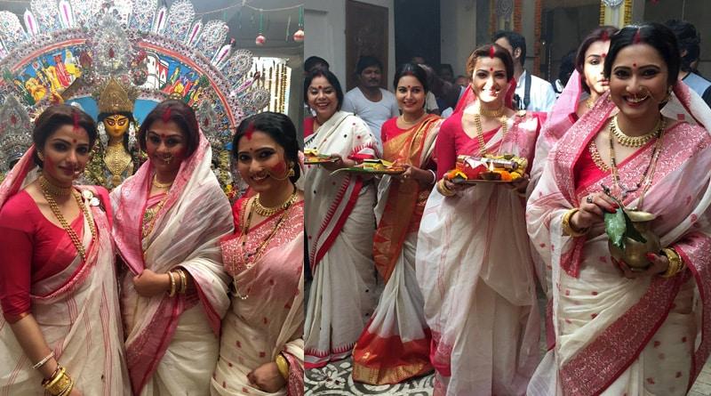 Arindam Sil shares still from Durja Sohay Set