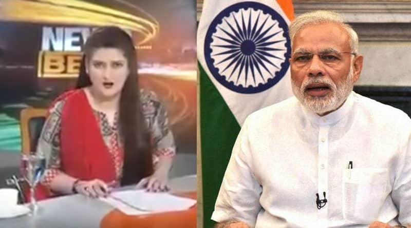 This Pakistani Anchor Took PM Modi's Case and Abuses Modi