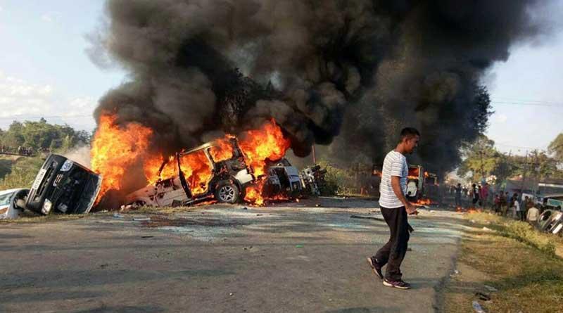 Manipur burns, curfew imposed prevent violence