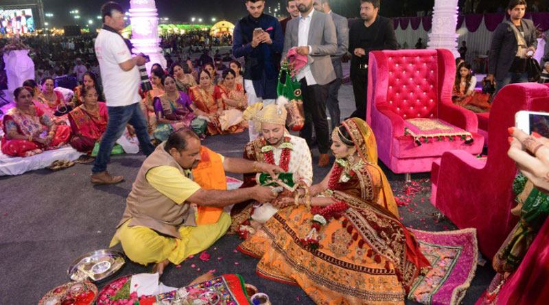Businessman gave 700 marriage of fatherless Girl