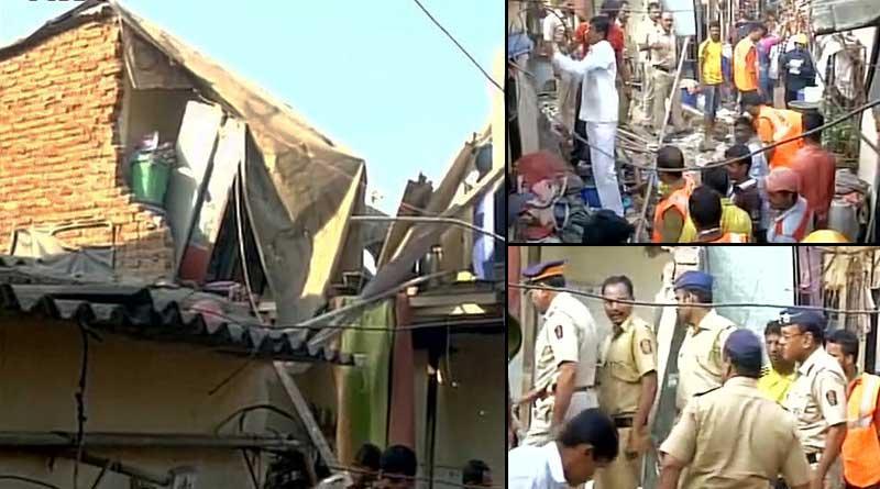 House collapsed in Mumbai's Mankhurd area