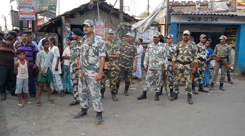 Chaos in school for Nabi day, police and RAF took charge