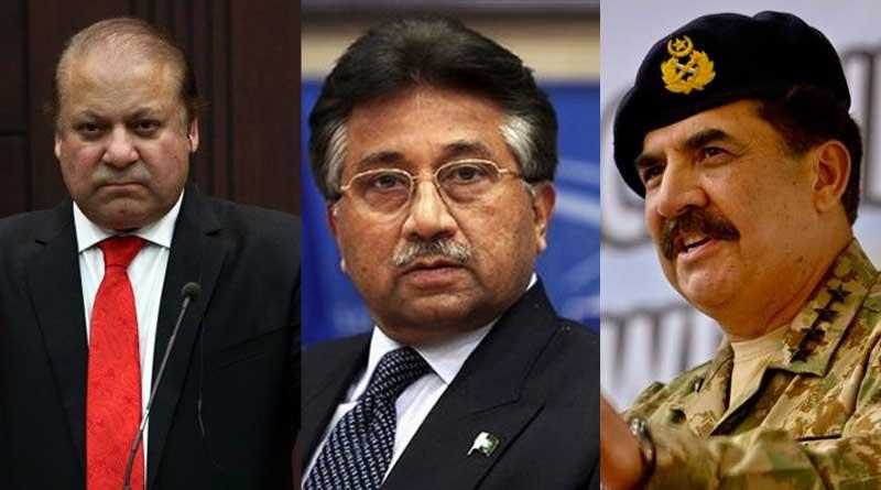 Raheel Sharif helped Pervez Musharraf to leave Pakistan