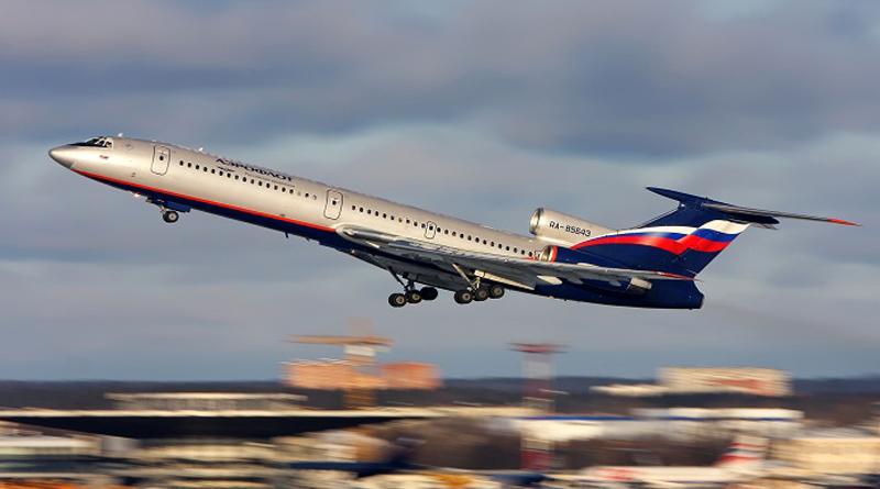 Russian military aircraft crashes into Black Sea