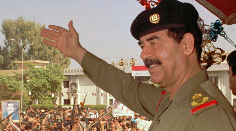 Saddam is right person to run Iraq properly, says EX CIA officer