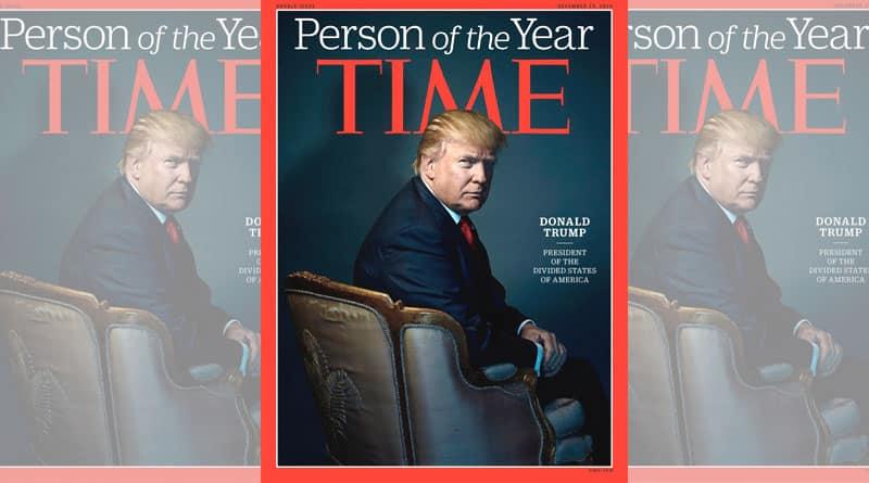 Time Magazine 'gave Donald Trump devil horns'