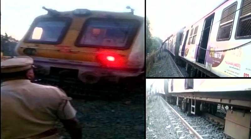 Again train derailed, now in Mumbai