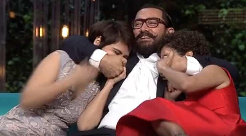 Koffee With Karan 5 Promo: Aamir Khan & His Dangal Daughters Make A Fun Trio