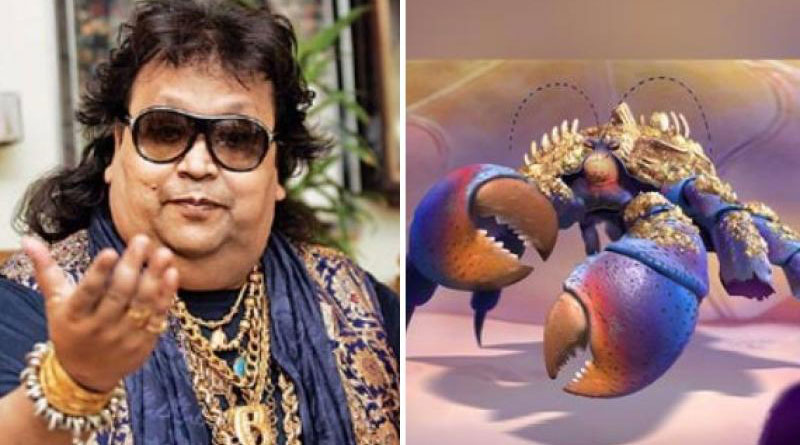 Gold lover Bappi Lahiri lends his voice for a song in Moana!