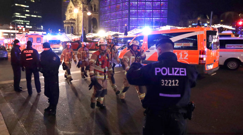 At Least 12 Dead As Truck Rams Crowd In Berlin