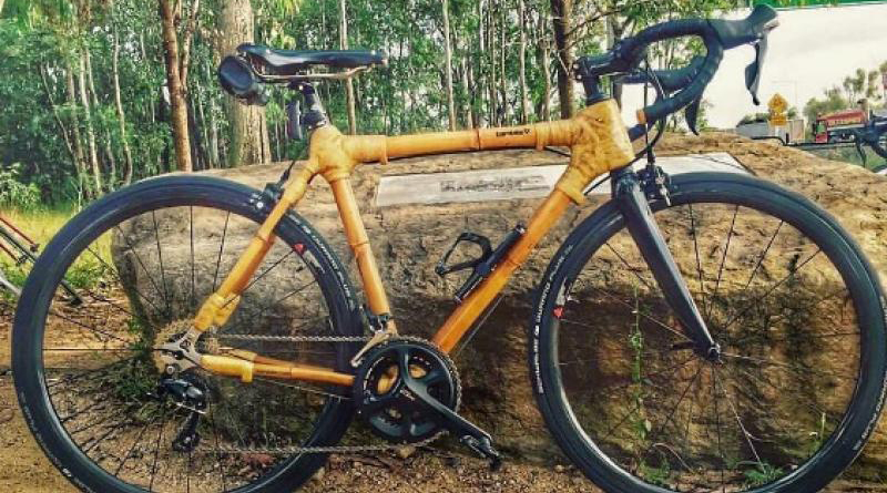 Eco-friendly transport taken to new level with India's first bamboo bicycle