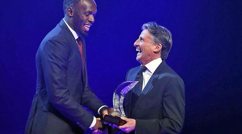 Usain Bolt won IAAF male Athlete of year