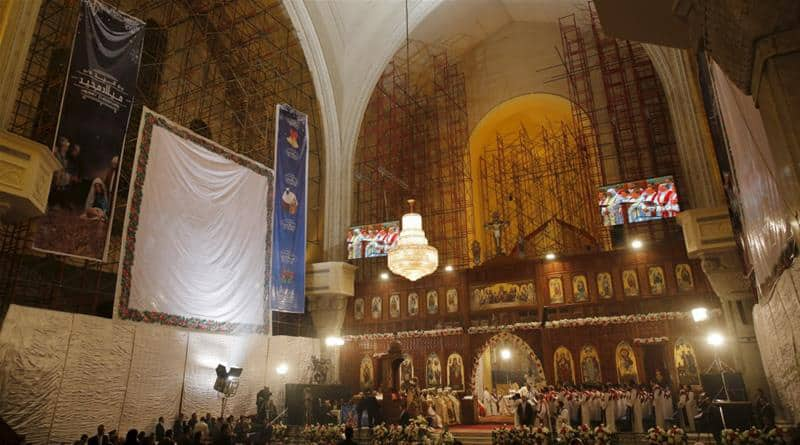 Bomb attack near Cairo Coptic cathedral kills at least 25