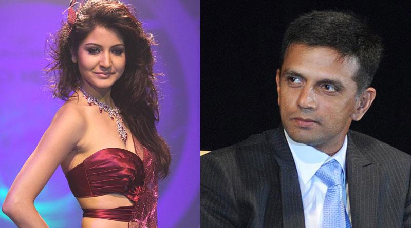 Rahul Dravid felt shy when Anushka Sharma approached him
