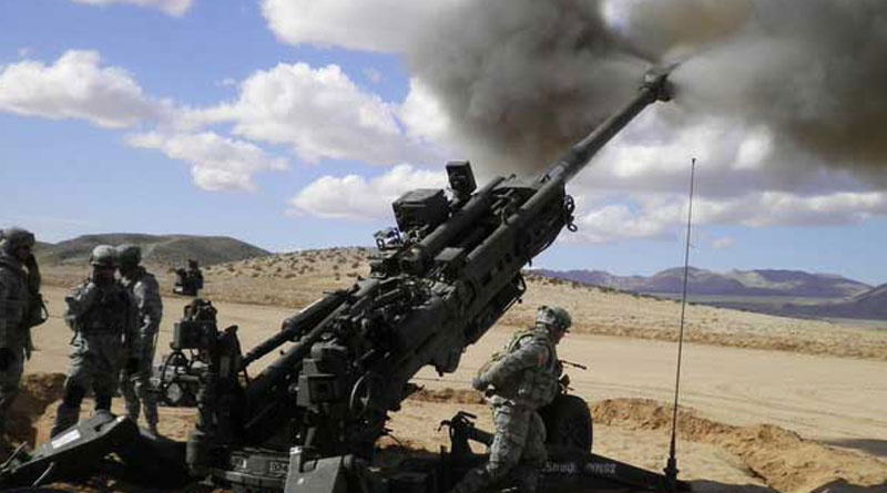 India Inks Deal With US For 145 Artillery Guns