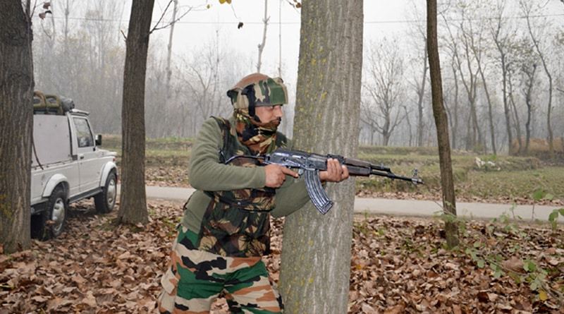 One terrorist killed in an encounter in Baramullah district