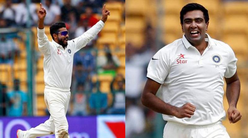 Ashwin and Jadeja grab top 2 spots in ICC Test bowlers' rankings