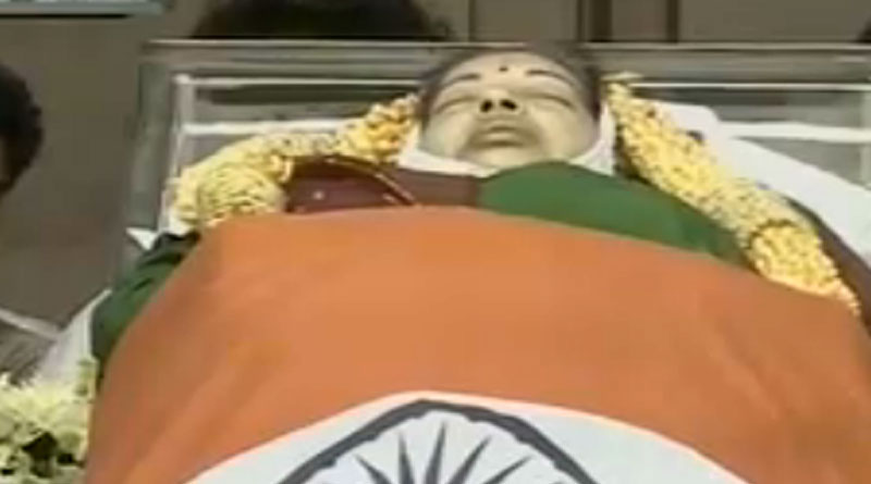 It's burial for Jayalalithaa