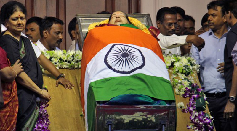 Jaya was conscious but infection spread quickly, unexpectedly