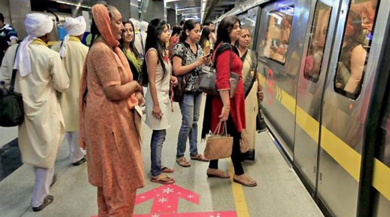 Women can carry knives while travelling in delhi metro