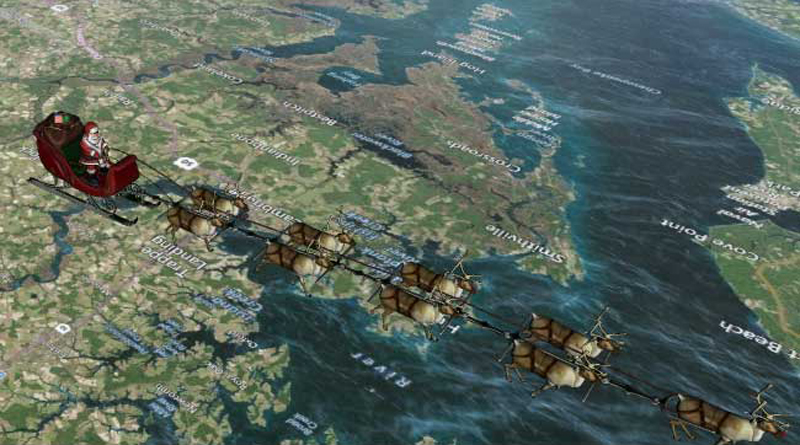 NORAD Website Charting Santa's Journey Around The Globe And Says He Crossed Delhi On Christmas Eve