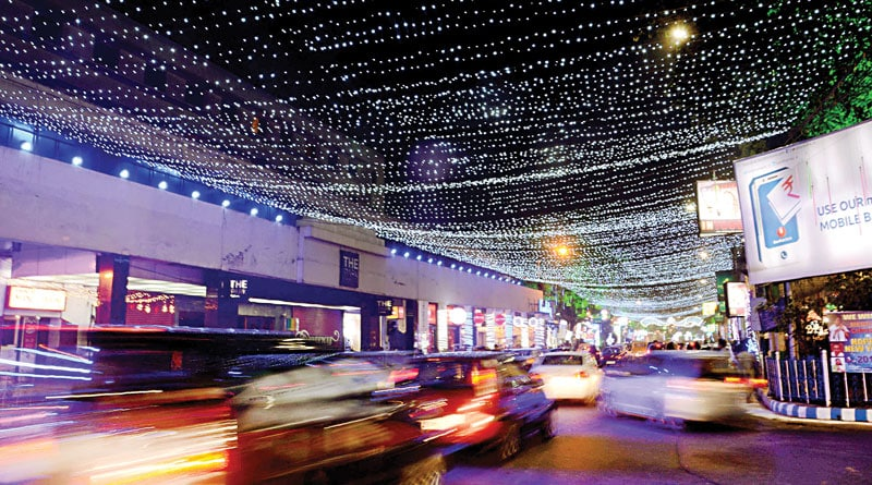 tiet security in kolkata on new year's eve