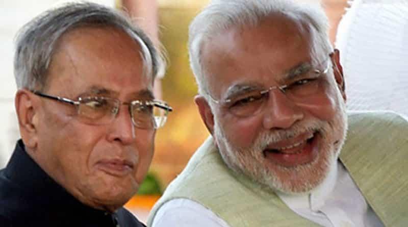 PM Narendra Modi wishes President birthday