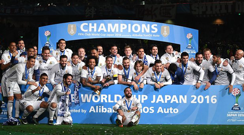 Real Madrid beat Kashima Antlers and won Club World Cup
