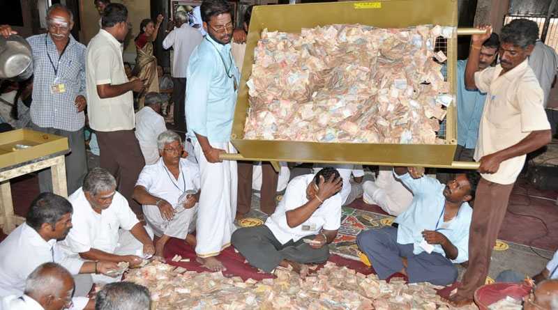 Self claimed religious leaders are involved in making black money white
