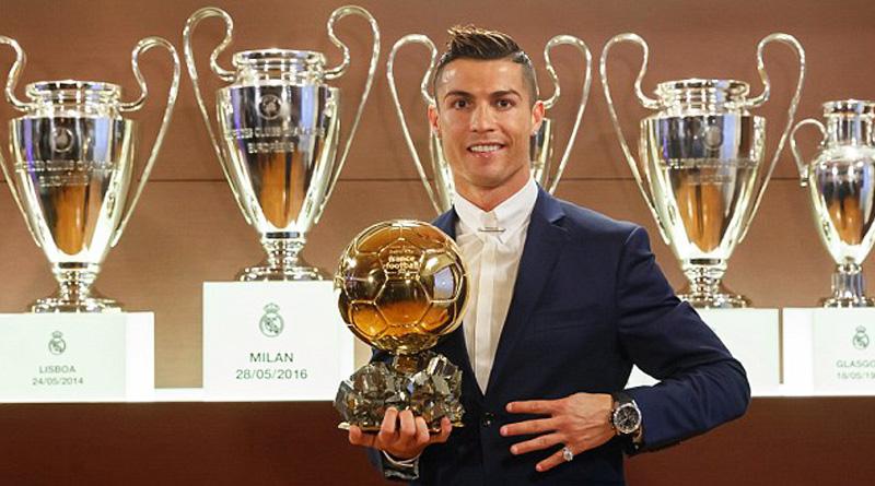 Cristiano Ronaldo won Ballon d'Or 2016
