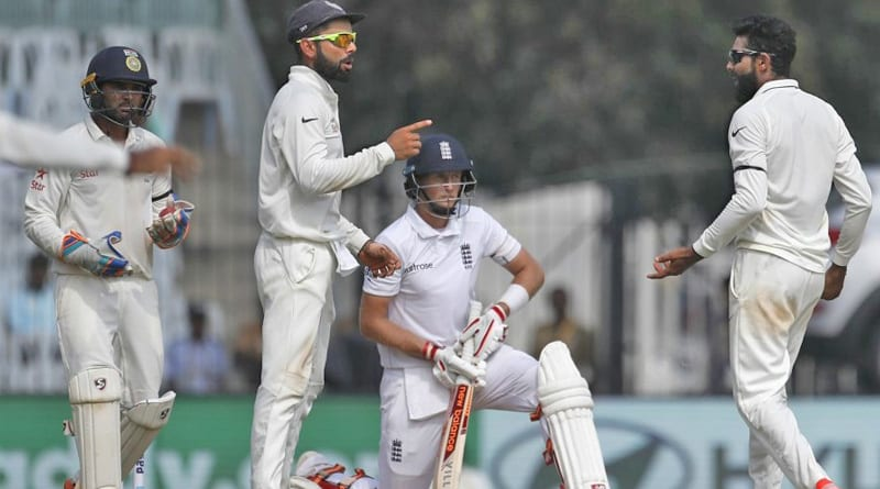 India vs England 5th test day 1 result