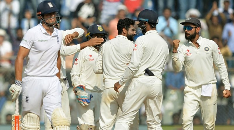 India vs England 4th test day 4 result
