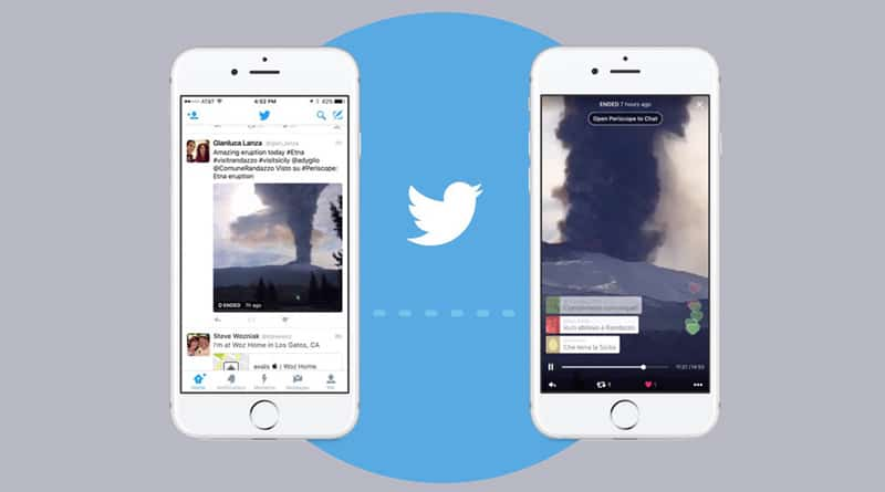 You can broadcast live video from Twitter now