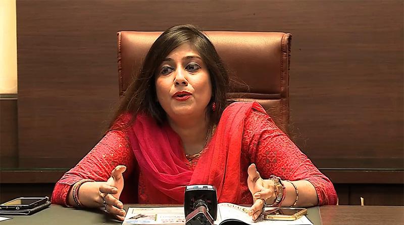 TMC MLA Vaishali Dalmiya caught on camera while talking on phone during national anthem