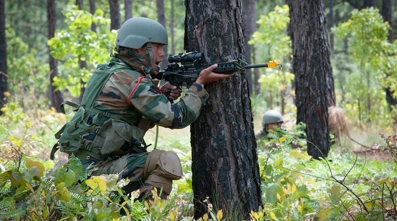 BSF gunn down Pak infiltrator in Pathankot border
