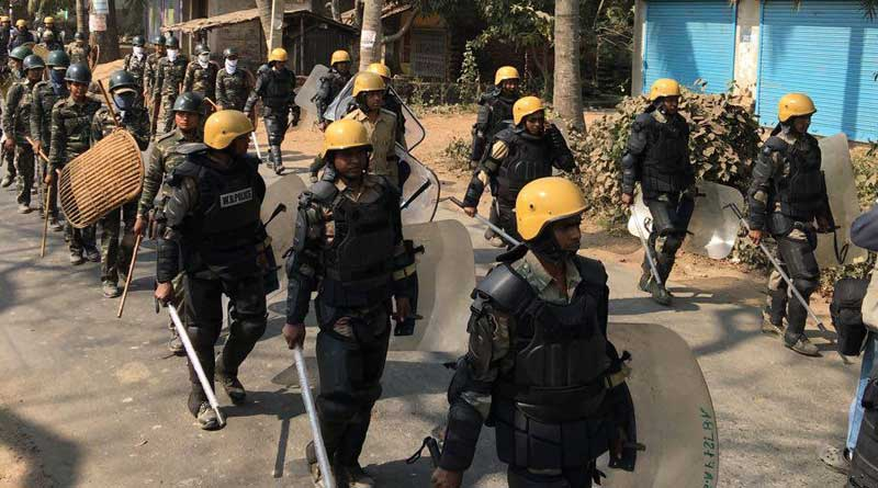 RAF, Combat Force deployed in turbulent Bhangar