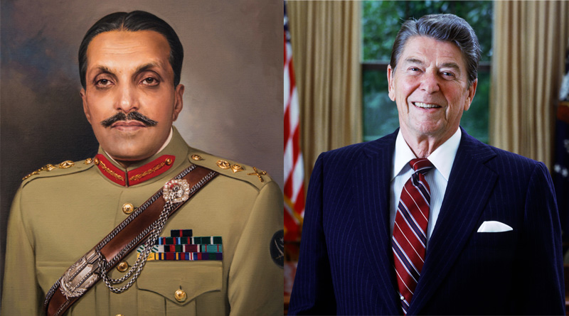 General Zia-ul-Haq assured former US President Ronald Reagan, Pakistan would not build nuclear weapons.