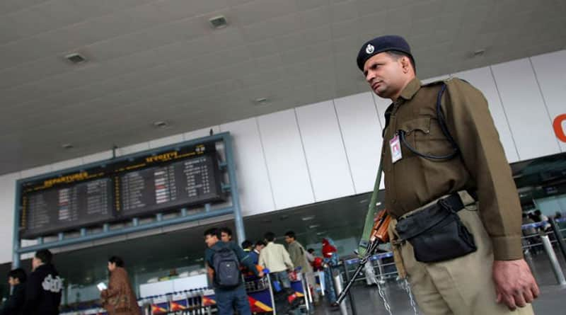 Security beefed up at Delhi airport over terror alert